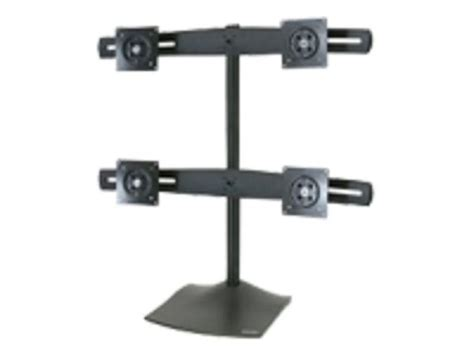 Ergotron Ds100 Quad Monitor Desk Stand For Flat Panels Ergotron Ds100 Dual Monitor Desk Stand