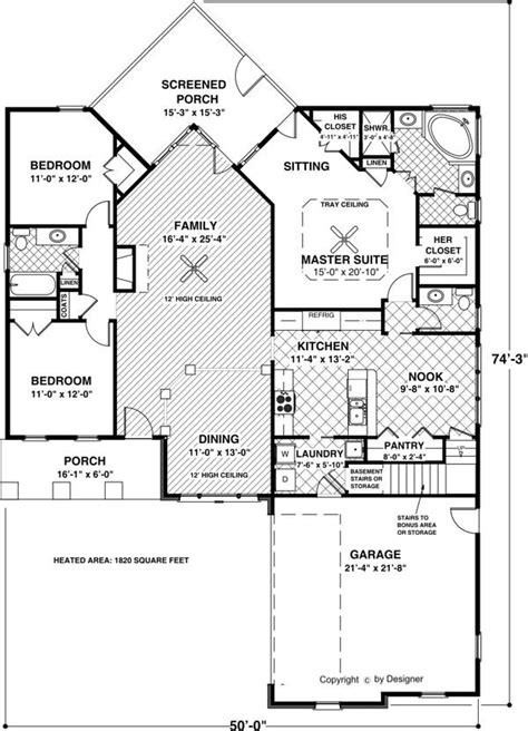 Southern House Plan With 3 Bedrooms And 2 5 Baths Plan 6923 Dfd House Plans