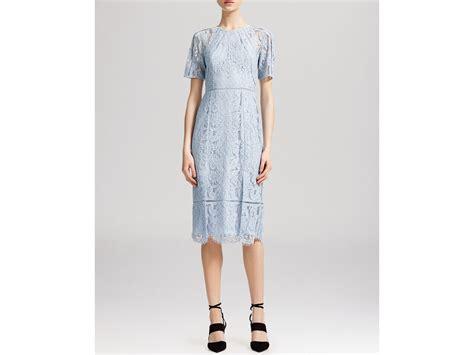 Pale Blue Lace Dress Whistles