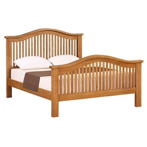 curved bed cotswold oak 5ft curved bed buy online at qd stores