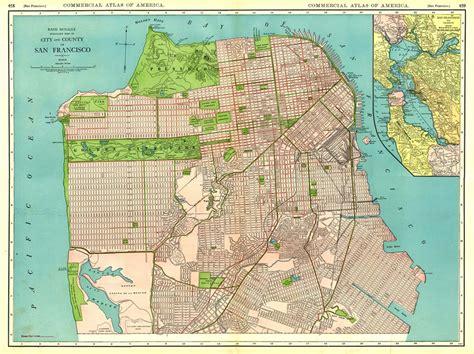 san francisco historic map historical map of san francisco mapsof net