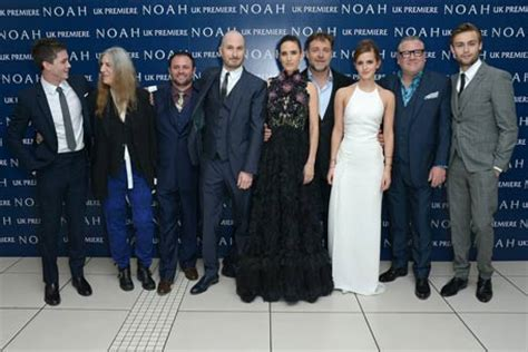stars of noah: jennifer connelly, russell crowe emirates