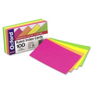 Esselte Index Cards Template by Laser Inkjet Index Card Avery Dennison 5388 Ave5388