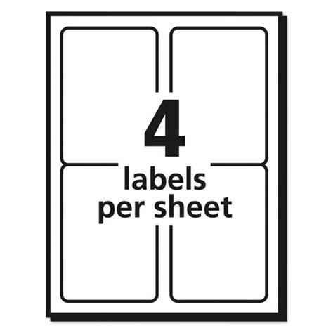 avery 10 labels per sheet template avery 5168 labels