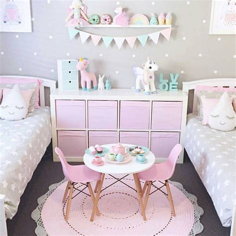 unicorn bedroom adorable girl s bedroom ideas pink and gray and neutrals