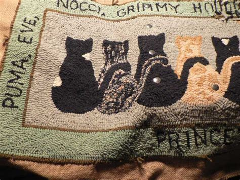 how to finish a rug hooking project fashioned rug hooking anyone doing it pics