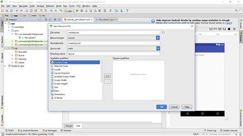 android studio layout widget mengatur posisi widget pada layout xml android studio