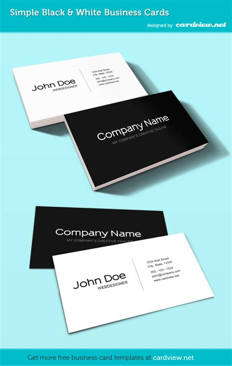 business card presentation template cardview net business card visit card design