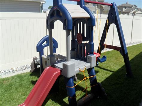 tikes swing set tykes swing set tikes clubhouse swing set