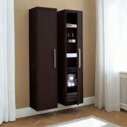 bathroom linen cabinet tall storage cabinets with doors