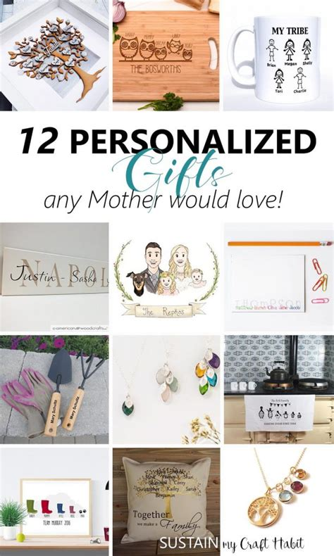 5 thoughtful gift ideas for mothers day 2017 peach hers 12 thoughtful personalized gifts any mother would love