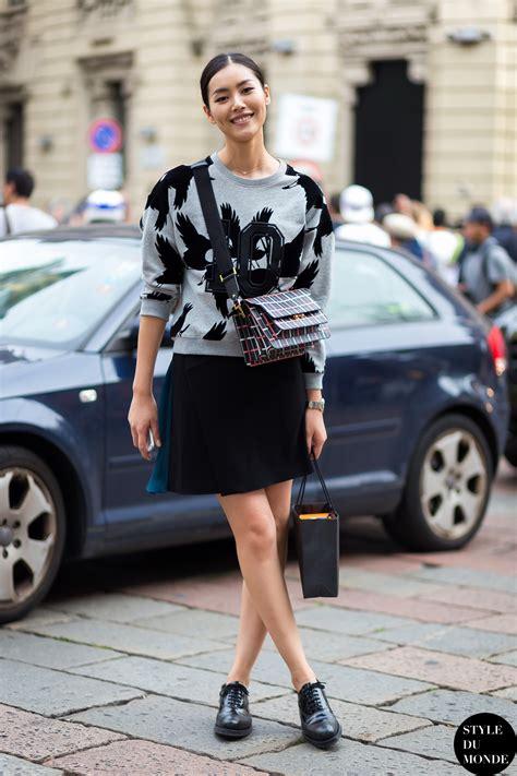 Style Liu by Milan Fw Ss15 Style Liu Wen Style Du Monde
