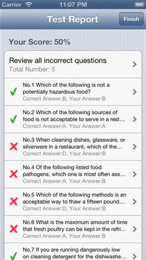 servsafe food safety prep app for iphone
