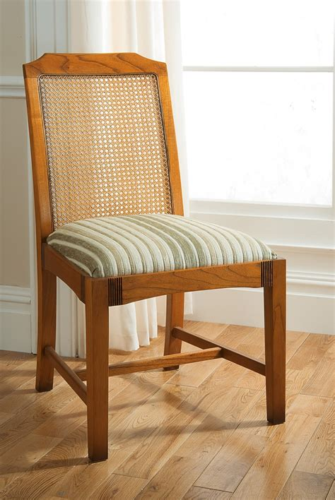 simple upholstery antique cane back dining chair homesfeed
