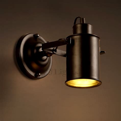 industrial wall sconce black wrought iron industrial wall sconces painting finish