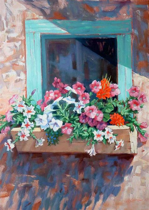 Fenster Bemalen Mit Wasserfarbe by Index To Of Alvin Sandler Paintings Prints Drawings
