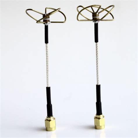 5 8 ghz circular polarized antenna set tx rx