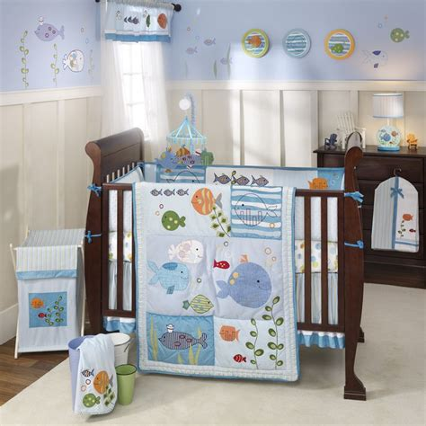 Sea Themed Crib Bedding by Theme Nursery Ideas The Sea Baby Crib Bedding
