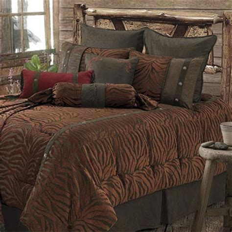 western bedding clearance western safari comforter set