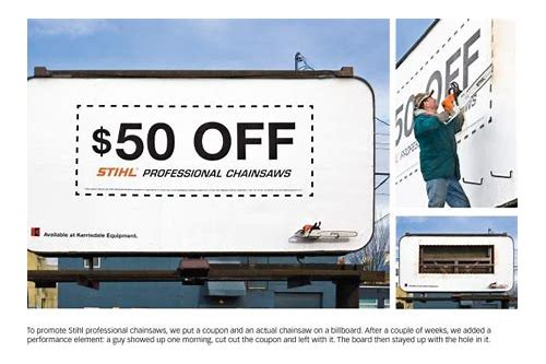 coupons for stihl chainsaws
