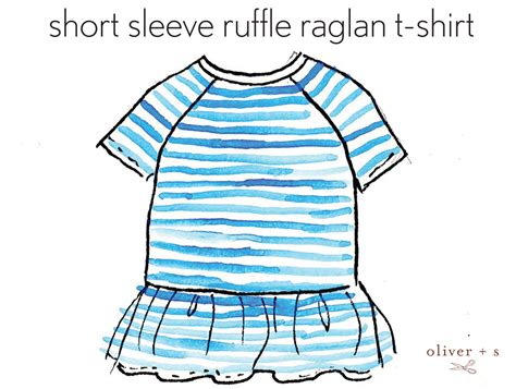 raglan t shirt pattern free customizing the raglan short sleeves blog oliver s