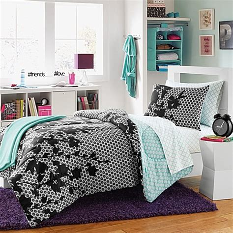 dorm room comforter sets serafina reversible dorm comforter set bed bath beyond