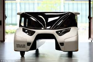 lada a energia solare stella is a cour seater family car powered by the sun