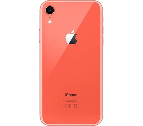 buy apple iphone xr 128 gb coral free delivery currys