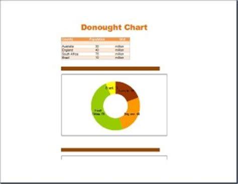 creative professional design doughnut chart template