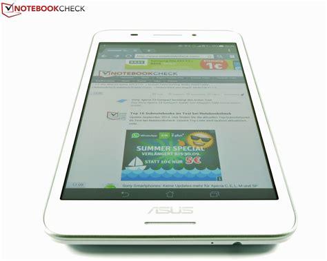 Tablet Asus Fonepad 7 Fe375cg kort testrapport asus fonepad 7 fe375cg tablet notebookcheck nl