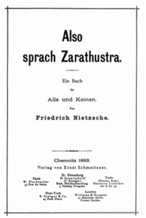 leo strauss on nietzsche s thus spoke zarathustra the leo strauss transcript series books as 237 habl 243 zaratustra la enciclopedia libre
