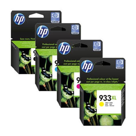 Ori Tinta Hp 933xl High Yield Magenta Ink Cartridge For Hp 7110 7612 hp officejet 7610 wide format e all in one printer ink