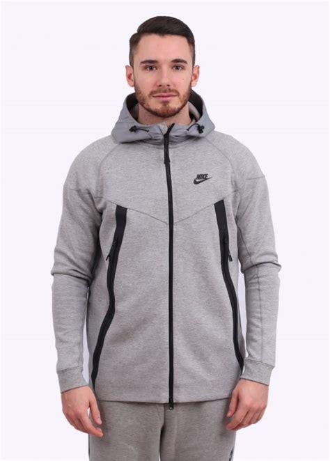Jaket Nike Parasut Windrunner Grey nike tech bonded jacket grey
