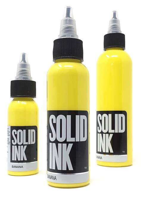 solid tattoo solid ink banana joker supply