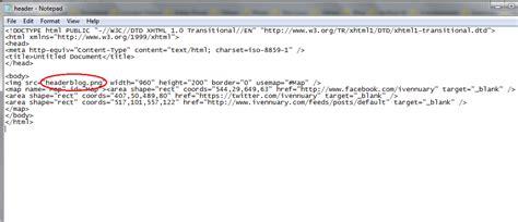 membuat link gambar di html membuat header blog gambar memiliki link muhammad bahrul