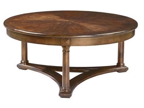 coffee table for living room hekman living room round coffee table 11101 hickory