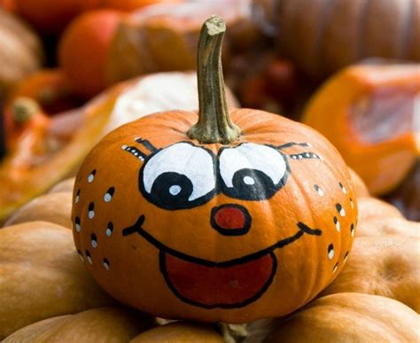 How To Decorate A Pumpkin by Decorating Pumpkins Without Carving Them Thriftyfun