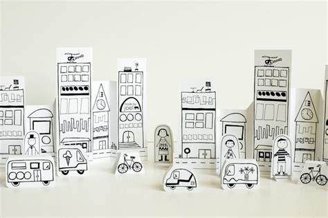How To Make A City With Paper - make your own paper city gadgetsin