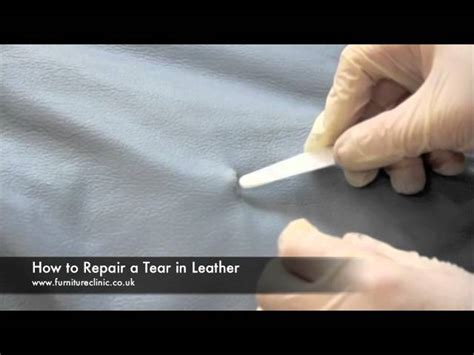 how to fix a ripped leather sofa repairing a tear in leather mp3fordfiesta com