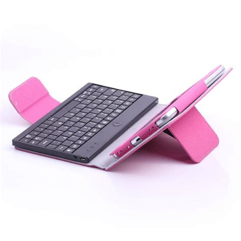 Samsung Tab 3 P211 leather with bluetooth keyboard for samsung galaxy