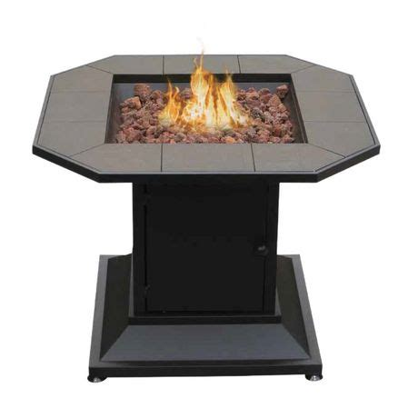 outdoor gas fireplace table cayman table style outdoor gas fireplace walmart ca