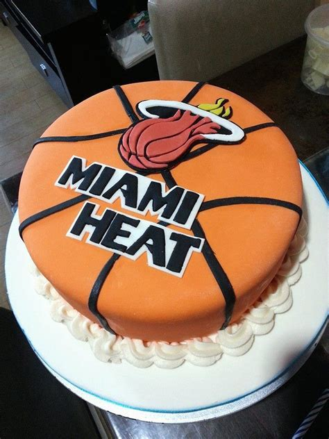 miami heat cake cakes