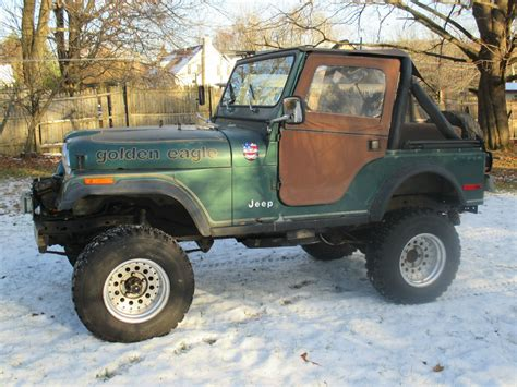 jeep amc 1979 amc jeep golden eagle cj5 cj 5 jeep cj lifted with