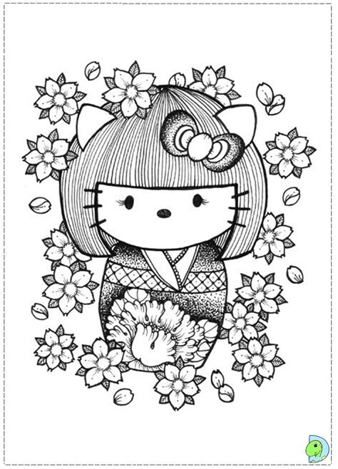 coloring pages kokeshi dolls kokeshi dolls coloring page dinokids org