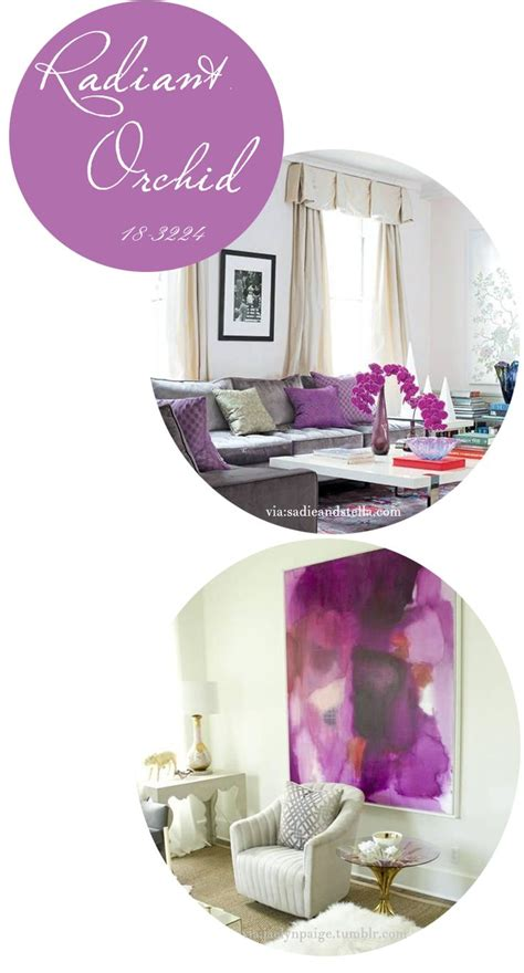 radiant orchid home decor 2014 color of the year radiant orchid studio style blog