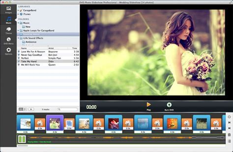 Wedding Slideshow Software for Mac   Slideshow Maker
