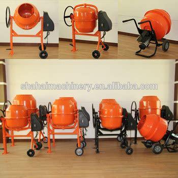 Mixer Watt Kecil 120l 750 w mixer beton kecil dengan motor listrik ce