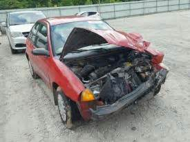 salvage geo cars for sale and auction