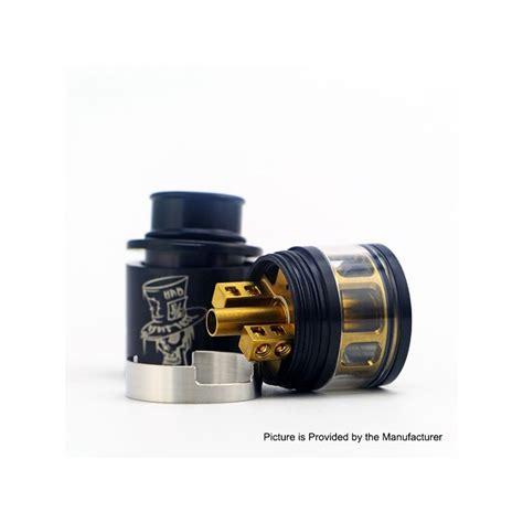 authentic advken mad hatter rdta black 3 5ml 24mm atomizer
