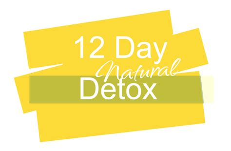 12 Day Detox by The Of Waiting The Manifest Station